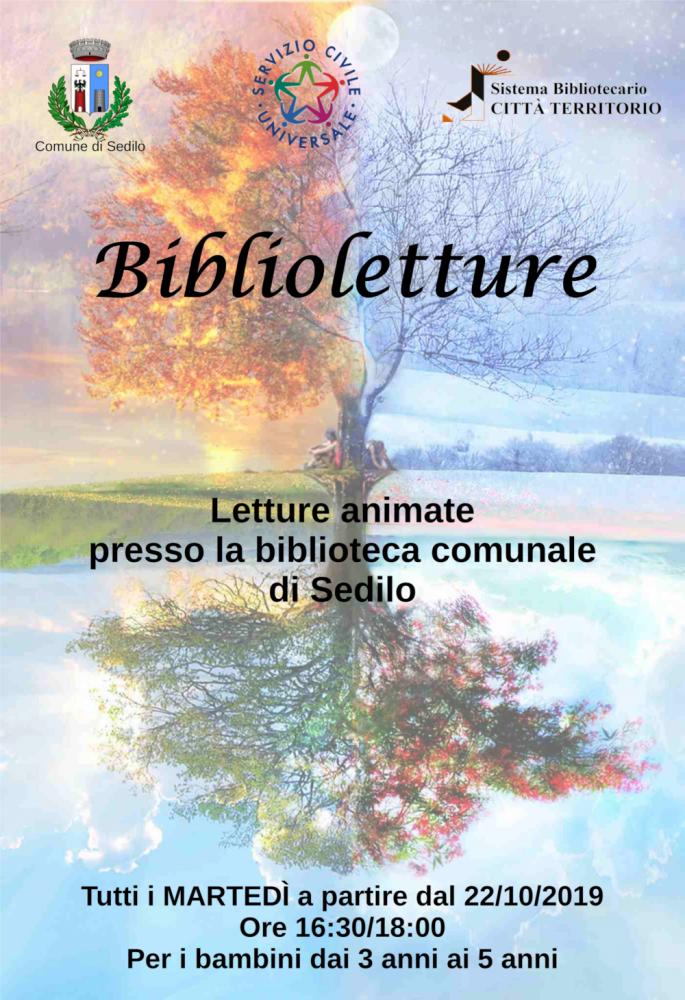 locandina Biblioletture