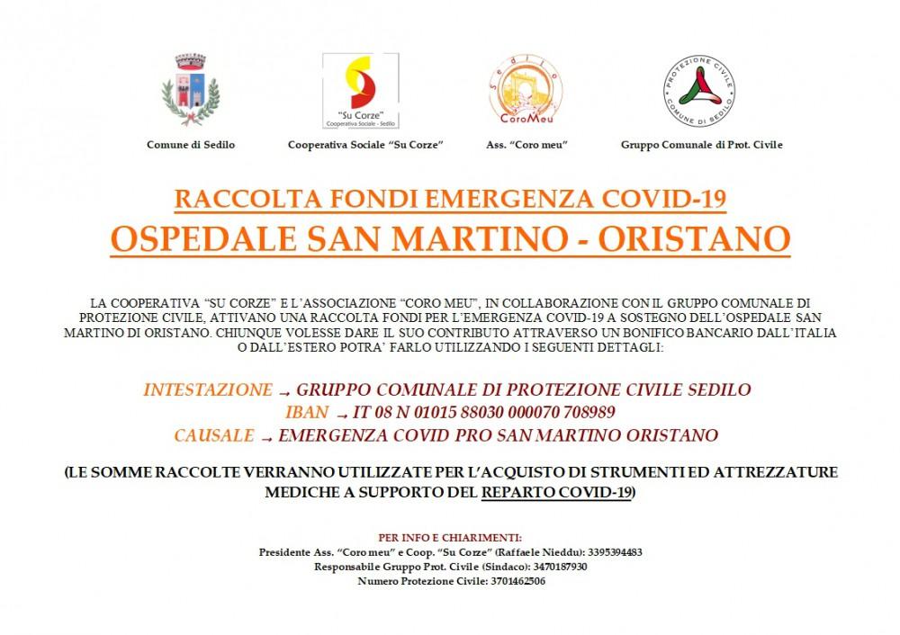 avviso donazioni San Martino